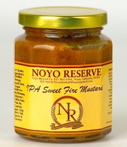 Noyo Reserve IPA Sweet Fire Mustard (10 Oz)