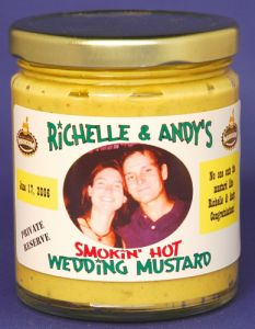 Personalized Mustards  - Jalapeno - 12 jars (Glass)