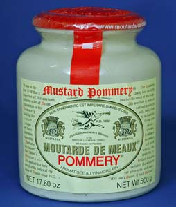 Pommery Moutarde De Meaux Grained Mustard (17.5 Oz)