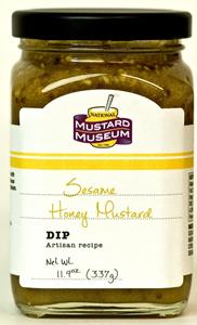 Mustard Museum Sesame Honey Mustard (11.9 Oz)