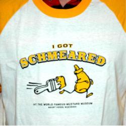 I Got Schmeared Baseball Jersey (unisex)