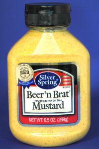 Silver Springs Beer & Brat Horseradish Mustard