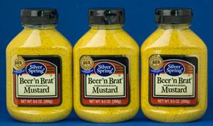 Silver Springs Beer & Brat Horseradish Mustard (3 Pack)