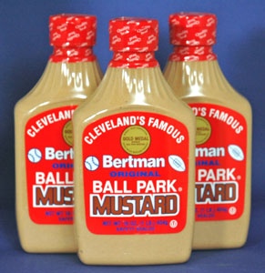 Bertman Original Ballpark Mustard - 3 Pack
