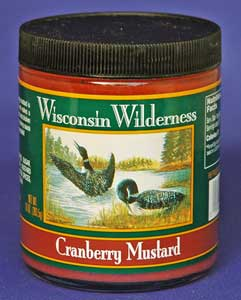 Wisconsin Wilderness Cranberry Mustard (10 Oz)