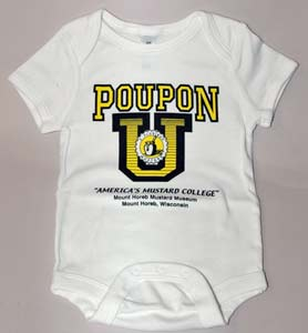 POUPON U Infant Onesie