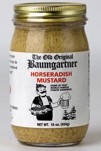 Baumgartner Horseradish Mustard
