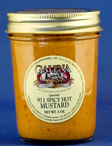Galena 911 Spicy Hot Mustard