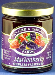 Columbia Empire Farms Marionberry Preserves (12 Oz)