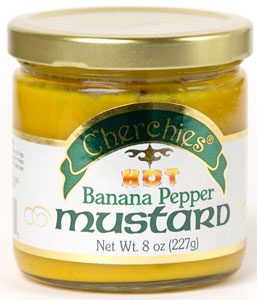 Cherchies Banana Pepper Mustard