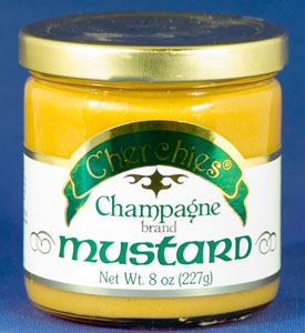 mustards cherchie 39 s champagne mustard national mustard. Black Bedroom Furniture Sets. Home Design Ideas
