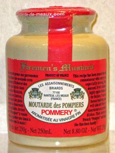 Pommery Moutardes des Pompiers