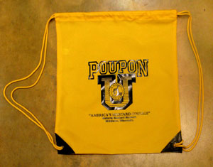 POUPON U Draw String Back Pack