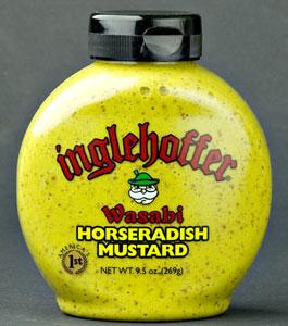 Inglehoffer Wasabi Horseradish Mustard