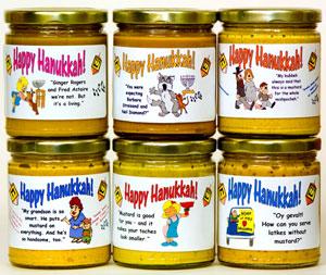 Hanukkah Mustard Gift Set