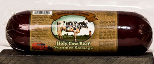 Bald Eagle Foods Holy Cow Beef Summer Sausage