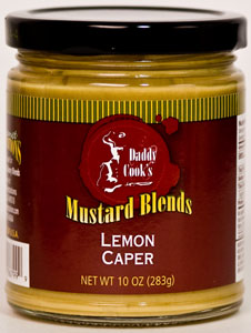 Daddy Cook's Lemon Caper Mustard