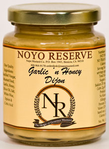 Noyo Reserve Garlic & Honey Dijon