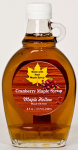 Maple Hollow Cranberry Maple Syrup