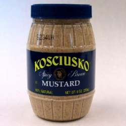 Kosciusko Spicy Brown Mustard (9 Oz)