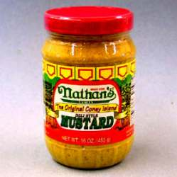 Nathan's Deli Style Mustard (16 Oz)